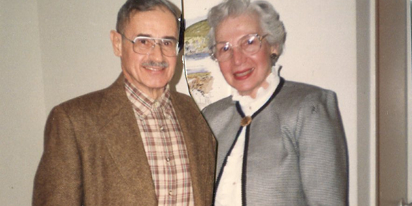 Gloria and Hans Schott
